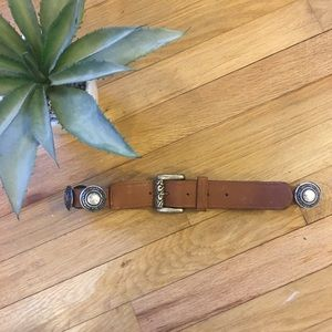 Accessories - Leather belt